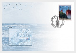 Letland / Latvia - Postfris / MNH - FDC Vuurtoren 2018 - Letland