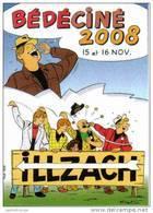 Autocollant TIBET Festival BD Illzach 2008 (Ric Hochet...) - Zelfklevers