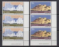 Europa Cept 1983 Malta 2v Strip Of 3  ** Mnh (41245) - 1983