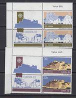 Europa Cept 1983 Malta 2v Bl Of 2 + Label ** Mnh (41245A) - 1983