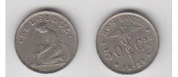 50 CTS 1927 FR - 1909-1934: Albert I