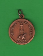 ALPINI Medaglia Adunata 2001 ANA Opus Bertoletti - Italia
