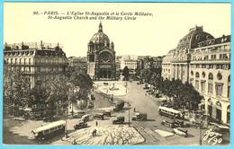 CPA 75 PARIS 8ème Eglise St Augustin  Cercle Militaire - Arrondissement: 08
