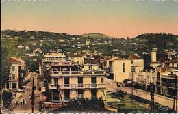 Cpa 06 Golf Juan , Avenue De La Gare Et Du Midi ,  écrite 1944 - Vallauris
