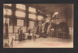 CPA Série Des Mineurs N°19 . Machine D'Extraction . Mines De Marles . ( Siège N° 6 ) - Mines