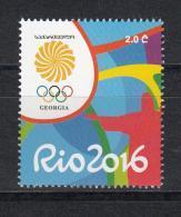 Georgia Georgien 2016 Mi. Rio Olympic Games - Georgien