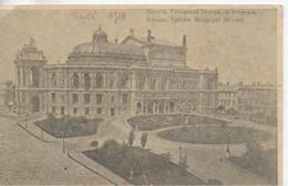 AK 0074  Odessa - Tgétre Municipal De Coté  Um 1916 - Ukraine