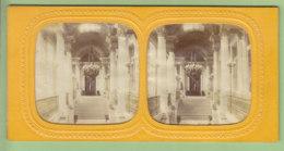Palais Des Tuileries Avant 1870 : Escalier D'Honneur. Paris. Photo Stéréoscopique . 2 Scans. - Photos Stéréoscopiques