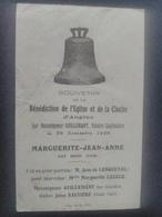 Angres Souvenir De La Bénédiction De La Cloche D'Angres Par Monseigneur Guillemant Vicaire Capitulaire. Le 30/11/1930. - France