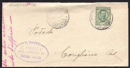 ITALY ITALIA ITALIEN 1928. Postal History Envelope Use By The Municipality SPEZZANO ALBANESE - Italia