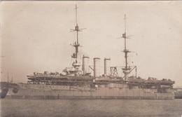 Alte Ansichtskarte Von Der SMS. Preussen Nach Dem Umbau Als Mutterschiff Für FM-Boote - Krieg
