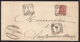 ITALY ITALIA ITALIEN 1903. Postal History Envelope Use By The Municipality GUALDO MACERATA SAN SEVERINO MARCHE - Otros