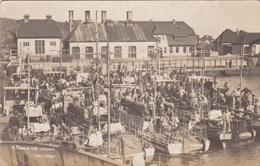 Alte Ansichtskarte Der 9. Minensuch-Halflottille In Helgoland - Warships