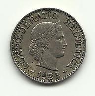 1926 - Svizzera 10 Rappen - Svizzera