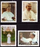 Vatican 0662/65** Jean Paul 1er - Vatican