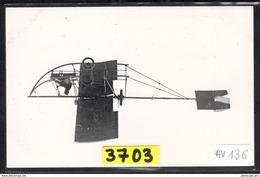 1596 AV136 AK PC CARTE PHOTO MONOPLAN ENTIEREMENT METALLIQUE TUBAVION 1912 PHOT. S.A.F.A.R.A. NC TTB - ....-1914: Precursori
