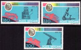 Vatican 0675/77** Centenaire De La Mort D'Angelo Secchi - Vatican