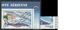 FRANCE 2008 POSTE AERIENNE YT PA 71 A** - VARIETE - 1960-.... Neufs