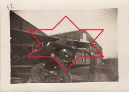 Photo 14-18 Camp D'aviation Américain De PRUNIERS-EN-SOLOGNE (Romorantin) - Un Avion Salmson 2 (A202, Ww1, Wk 1) - Romorantin