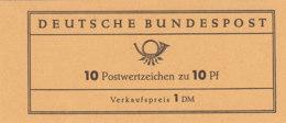 BRD MH 7 A I, Postfrisch **, Dürer 1961 - Markenheftchen