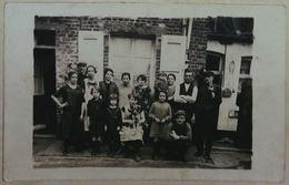 Dour Photo Famille Fils Du Porteur De Caisse Robert Estiévenart - Dour