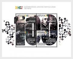 Litouwen / Lithuania - Postfris / MNH - Sheet Moderne Instituten 2018 - Lithuania