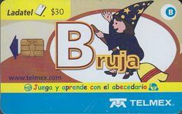 Mexico - MX-TEL-SN-046-02 - Comic - Bruja. Juega Y Aprende Con El Abcdario 2/27 - Mexico