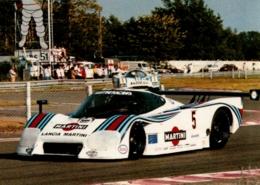 24 HEURES DU MANS , COURSE AUTOMOBILE , LANCIA MARTINI - Le Mans