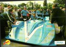 24 HEURES DU MANS , COURSE AUTOMOBILE , MICHEL VAILLANT En 2002 , DAMS Au Pesage , La Vaillante - Le Mans