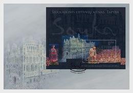 Litouwen / Lithuania - Postfris / MNH - FDC Sheet Hedendaagse Kunst 2018 - Litouwen