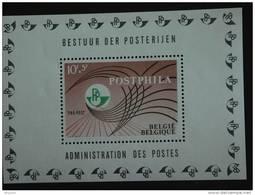 België Belgique Postphila I Expo PRO-POST Yv COB Blok Bloc 44 BF 1435  MNH ** - Blocks & Kleinbögen 1962-....