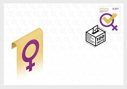 Litouwen / Lithuania - Postfris / MNH - FDC Vrouwenrechten 2018 - Litouwen