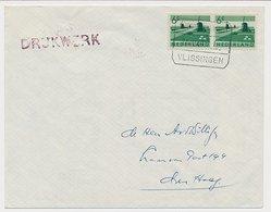Treinblokstempel : S Hertogenbosch - Vlissingen I 1969 - Periode 1891-1948 (Wilhelmina)