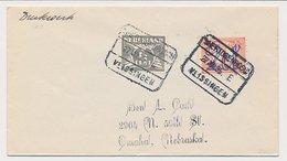 Treinblokstempel : S Hertogenbosch - Vlissingen E 1935 - Periode 1891-1948 (Wilhelmina)
