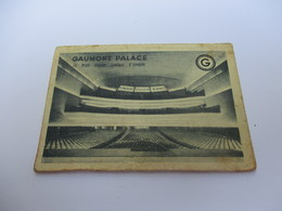 Calendrier De Poche à 2 Volets/Cinéma/ GAUMONT PALACE/Le Plus Grand Cinéma D'Europe/1957                CAL421 - Autres