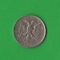 Albania 1/2 Lek 1926 Shqipëri Mint Rome - Albania