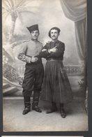 Puylausic / Tunis  :carte Photo : Duo De MILITAIRES  Identifiés   (PPP15831) - Régiments