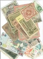 Lot De 70 Billets Du Monde. - Monedas & Billetes
