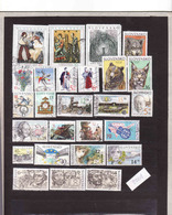 Slovakia-Slovaquie 2001, Gebraucht-oblitérés, Année Complète, - Slovaquie
