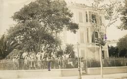 PHOTO LELANDA - NICE - Hôpital Militaire N° 147 Bis,Guerre 1914/18, Drapeau Américain . - Santé, Hôpitaux
