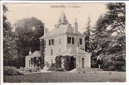 Cpa  Carte Postale Ancienne  - Osserain Le Chateau - Francia