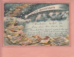OLD POSTCARD -  POSTCARD HISTORY - 1899 LAST POSTCARD - DIE LETZTE ANSICHTSKARTE - DELTIOLOGY - Cartoline