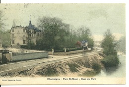 94 - CHAMPIGNY PARC SAINT MAUR / QUAI DU PARC - Champigny Sur Marne