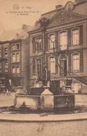 HUY / LA FONTAINE DE LA GRAND PLACE DIT LI BASSINIA  1923 - Huy