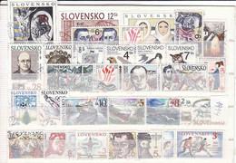 Slovaquie 1994, Année Complete, Oblitérés, - Slovaquie
