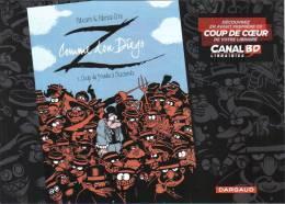 Dossier De Presse Z Comme Don Diego Fabcaro Erre Dargaud 2012 - Livres, BD, Revues