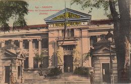 COCHINCHINE VIET NAM  Saïgon Palais Du Lieutenant Gouverneur - Viêt-Nam