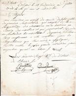 Rév. 18 Vend. An 3 - RÉQUISITION DE CHEVAUX Sauf Pour Les MEUNIERS Et Les MOULINS - Historical Documents
