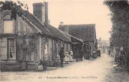 41 - LOIR ET CHER / 412868 - Yvoy Le Marron - Rue De L'église - Beau Cliché Animé - Autres Communes