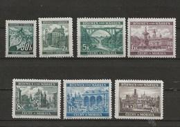 Böhmen Und Mähren-Timbres De 1940- - Germany